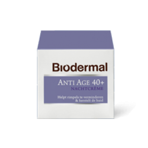 Biodermal Nachtcreme Anti-Age 40+