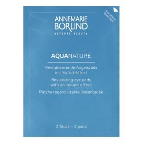 Aquanature revitaliserende eyepads (6x 2 pads)