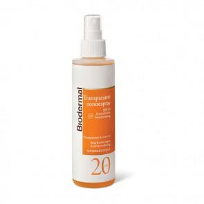 Biodermal Zonnespray Transparant F20