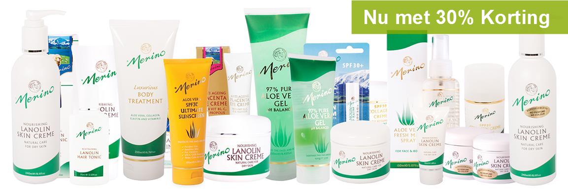 Merino Skin Care aanbiedingen