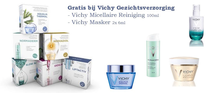 Vichy gezichtverzorging Aanbieding